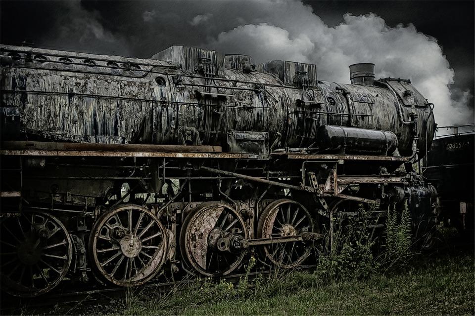 старые поезда фото
