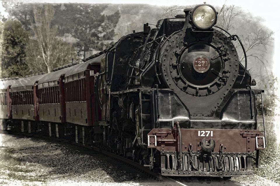 старинные поезда фото