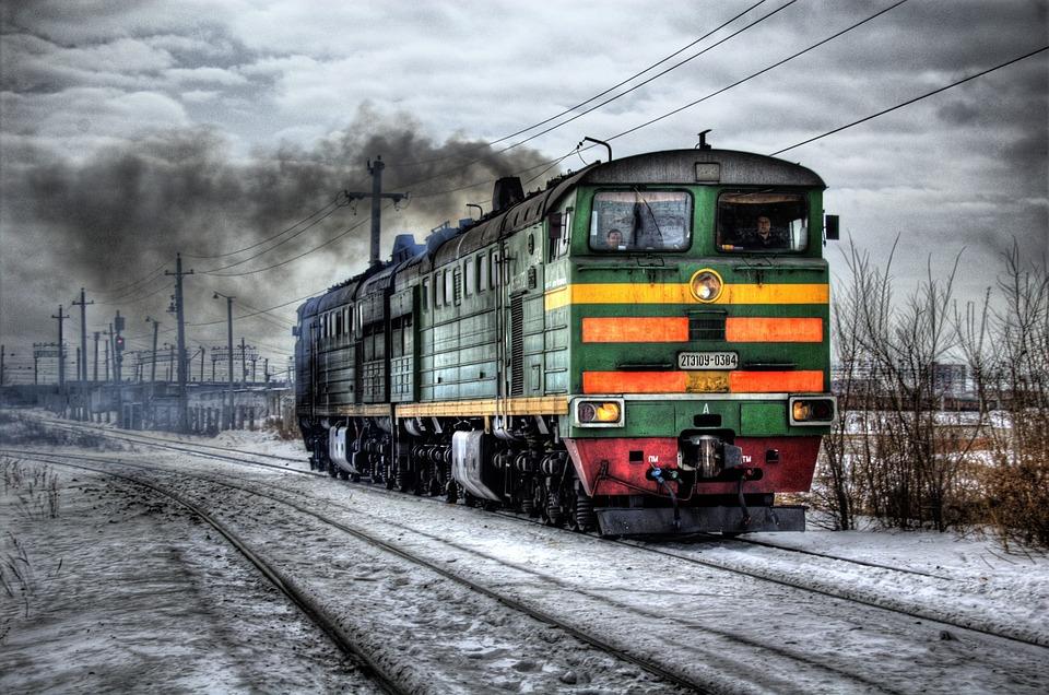фотографии старых поездов